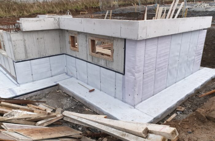 Private Dwelling Basement Waterproofing – Sligo