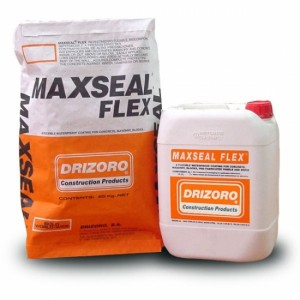 Maxseal Flex: a flexible waterproof coating against positive and negative pressure for concrete and masonry.