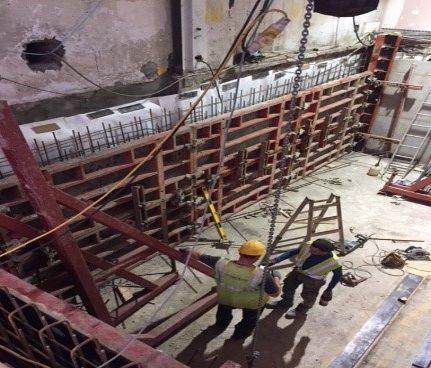 Claredon Market – Basement Waterproofing