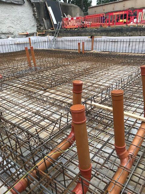 Residential Development – Structure Waterproofing