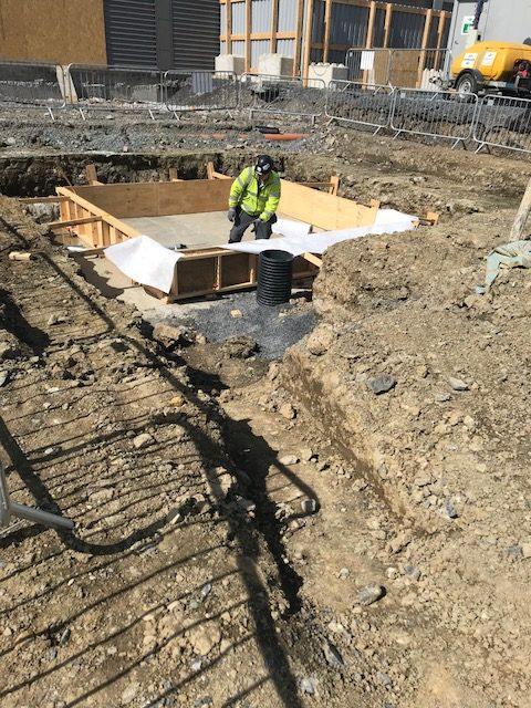 Abbott Diagnostics – Lift Pit Waterproofing